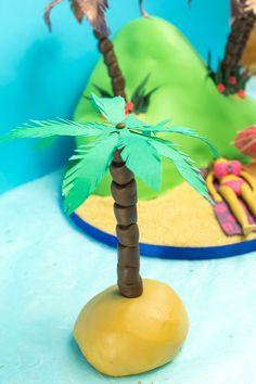 how to make a palm tree