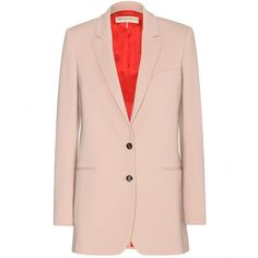 This Emilio Pucci blazer is quite unique - the light taupe colour is as rich as it is fresh. The cut is simple and will lend itself perfectly to being draped over pretty dresses on cool summer evenings.
