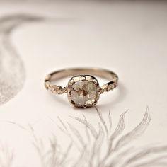 Fabulous ring, beautiful cut and beautiful setting. Lovely!