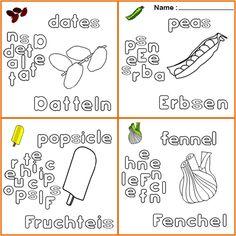 Tiere Ausmalbilder für kinder deutsch englisch | Ausmalbilder für ...