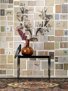 Biblioteca wallpaper! via decor8
