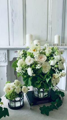 sabrinaflowerphoto on Instagram: 「結婚するなら絶対に春!」 と子どもの頃から決めていたのは スズランのブーケが持ちたかったから。 いろいろあって結婚式は秋になり ウェディングブーケも 思った感じにはならなかったけど まっ幸せだからいいかと 当時は思えた・・・? でもでも過去に戻れるなら 5月に結婚して… White Floral Centerpieces, The Cardigans, Floral Wreath, Wreaths, Plants, Instagram, Decor, Floral Crown, Decoration