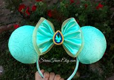 Jasmine Inspired Mouse Ears  Preorder by SirensTrove on Etsy