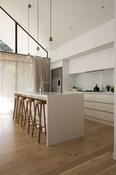 Professional Timber Flooring Experts Installing Engineered Oak and Solid Wood Flooring in Auckland Solid Wood Flooring, Timber Flooring, Auckland, Kitchens, Furniture, Home Decor, Wood Floor, Homemade Home Decor, Kitchen