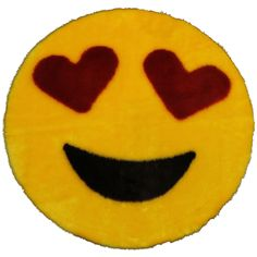 Heart Eye emoji hooded towel in youth or adult size