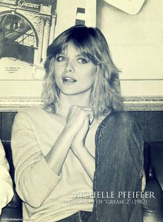 michelle pfeiffer - during the promotion grease 2