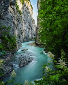Aare Gorge, Switzerland