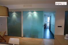 puertas de correderas de cristal