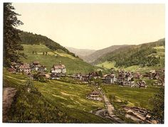 Todtmoos, general view, Black Forest, Baden, Germany