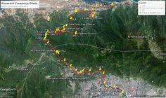 Ruta del Ferrocarril Caracas - La Guaira