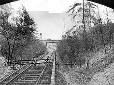 Berlin: Die unterbrochene S-Bahn-Strecke Wannsee - Stahnsdorf.1966