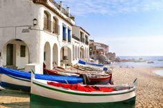 Beautiful catalan fishing village by JCB Photogr@phic on @creativemarket
