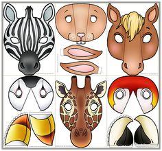 Caretas de animales