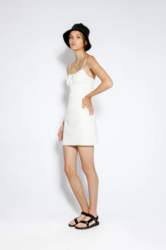 Abigail Linen Dress White – Lulu & Rose Rose Dress, Most Beautiful, Label, Women Wear, White Dress, Feminine, Shop, Cotton