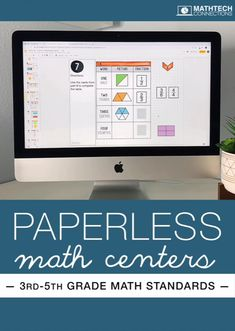 Make test prep fun with these paperless math activities. Upper elementary math activities for google classroom are available to review all third, fourth, and fifth grade math standards. No printing! Flipped Classroom, Math Classroom, Classroom Ideas, Math Games, Math Activities, Google Classroom Tutorial, Fifth Grade Math, Instructional Technology, Instructional Strategies