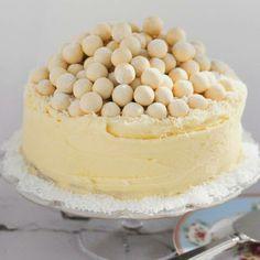 White Malteser cake - Good Food Channel