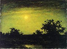 My World: Ralph Albert Blakelock-great romantic painter of 19th century,Ralph Albert Blakelock's paintings