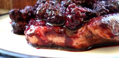 Paleo Blackberry Glazed Grilled Pork Chops I love pork. No seriously, like I REALLY love pork. It's my favorite kind of meat. If I could eat only one kind of meat all day, every day, it'd be pork. And these pork chops I got from US […] Primal Recipes, Pork Recipes, Real Food Recipes, Cooking Recipes, Paleo Food, Paleo Dessert, Grilling Recipes, Healthy Grilling, Paleo Meals