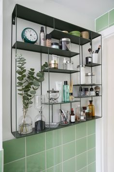 "Check out our site for even more info on ""home tools list"". It is actually a superb location to learn more. Bathroom Inspo, Bathroom Inspiration, Colour Blocking Interior, Mint Green Bathrooms, Eclectic Furniture, Compact Living, Home Tools, Custom Made Furniture, Bathroom Toilets"