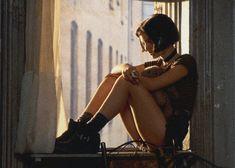 Style Icons: Winona Ryder, Drew Barrymore, Natalie Portman, and Natalie Portman Léon, Natalie Portman Mathilda, Leon The Professional Mathilda, The Professional Movie, Professional Tattoo, Nathalie Portman Style, Leon Matilda, Winona Ryder 90s, 90s Icons