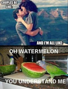 """Watermelon really """"gets me"""""""