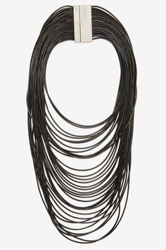 Strand by Me Corded Necklace - Black | Shop Accessories at Nasty Gal!