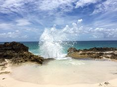 A little secret beach in Guadeloupe, French West Indies