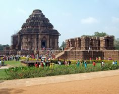 A human creation, Sun temple. konark, INDIA