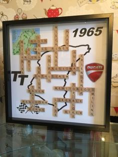 SCRABBLE-ART-FRAME-Personalised-Birthday-Wedding-Fathers-Day-GIFTS-Extra-Large