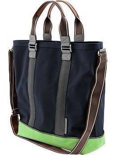 Lime dipped tote