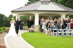 Gazebo - perfect for outdoor weddings!