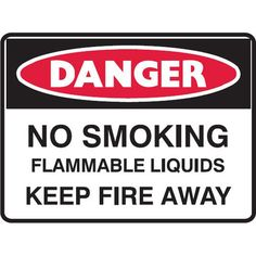 Danger No Smoking Flammable Liquids #Mining_Site_Signs #Creations #Group http://www.creationsgroup.com.au/products/mining-safety-signage-/mining-site-signs/danger-no-smoking-flammable-liquids-
