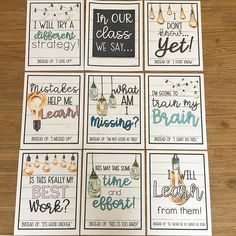 Growth mindset + cute fonts + shiplap = YES PLEASE! 🙌🏼🙌🏼 All the heart eyes for this new set of growth mindset posters from Classroom Community, Classroom Posters, Primary Classroom, Classroom Design, Classroom Themes, School Classroom, Classroom Calendar, Classroom Routines, Classroom Walls