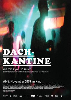 Documentary film poster about the club in Zurich. Film Poster, Documentary Film, Zurich, Documentaries, Graphic Design, Club, Camera, Movie Theater