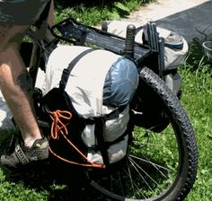 TB DESIGNS PANNIERS: Instructions for Making Your Own Panniers