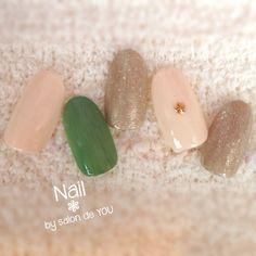 ネイルデザイン Love Nails, Fun Nails, Japanese Nails, Autumn Nails, Wedding Nails, Beauty Nails, Pedicure, Hair Makeup, Nail Designs