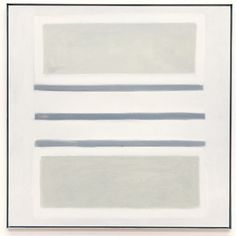 Spring, Agnes Martin 1958 Oil on canvas