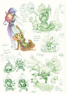 [Fanarts] Peridot - Steven Universe