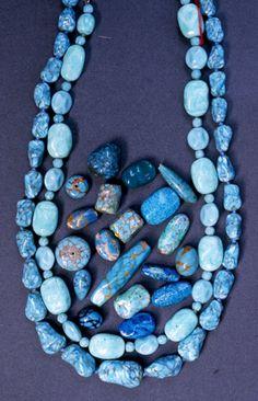 Louis Rousselet Glass Turquoise