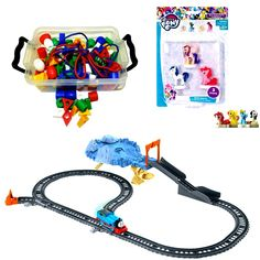 Threading beads, Thomas the train and My Little Pony Thomas The Train, Good Cause, Toys Shop, Threading, How To Raise Money, Cool Toys, My Little Pony, Childrens Books, Kids Toys