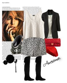 """""""Awesome"""" by ena20 ❤ liked on Polyvore featuring ASOS, SuperTrash, Wet Seal, H&M, Chanel and 3.1 Phillip Lim"""