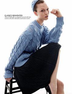Karlie Kloss | Vogue UK August 2010