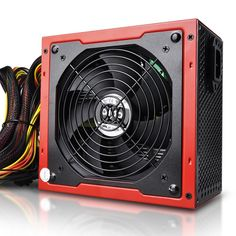 Power Supply 450W 500 600W Non- Modular 80+ Gold Certified New Product, Gaming, Technology, Digital, Gold, Tech, Videogames, Tecnologia, Game
