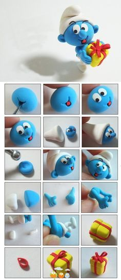 SMURF CLAY