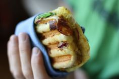 Breakfast Panini By Your Vegan Mom. Freeze For Quick And Easy Breakfast On The Go Later!