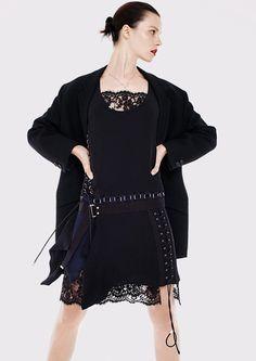 New York Style: Egle Tvirbutaite by Joshua Jordan for Elle Germany August 2015 - Diesel Black Gold