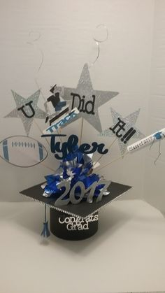 Graduation Centerpiece, Centerpieces, Jewelry, Jewlery, Bijoux, Jewerly, Centerpiece, Table Centerpieces, Jewelery