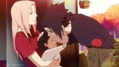 Sakura and sasuke family