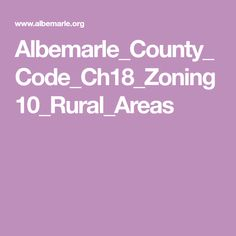 Albemarle_County_Code_Ch18_Zoning10_Rural_Areas