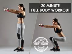 20 minute full body workout More Workout Combos, Full Body Workouts, Crossfit Workout, Fitfluenti Work, Cardio Workout, 20 Minute, Fitness Workout Exercise Diet, Workout Videos, WomenS Sworkouts 20 Minute Full Body Workout Video - FitFluential 20 minute full body workout via @fitfluential #fitfluential #work